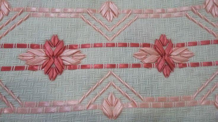 вышивка лентами 3