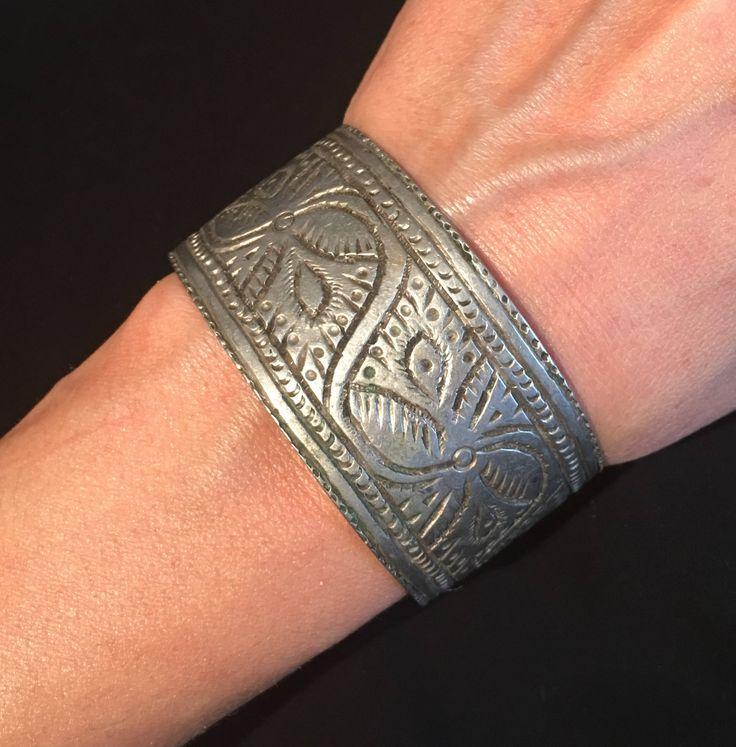 Afghani Breacelet-Antique Cuff-Vintage Bangle-Kuchee jewelery  Statement vintage Breacelet-gypsy-Ethnic-hippy-kuchee-Nomadic by JewelsofNomads on Etsy