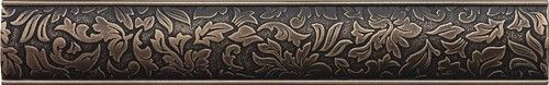 Cast Metal Decoratives - Antique Bronze Dorset Damask Border 2x12