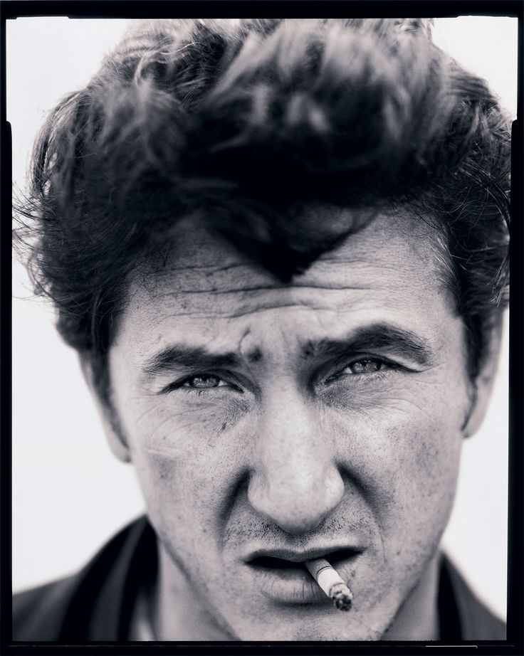 And Sean Penn, Los Angeles, 1992.