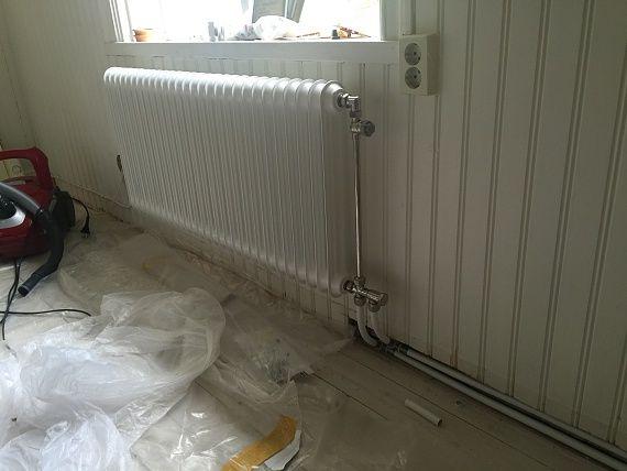 """""""inbyggda"""" radiatorrör inspekterbart"""