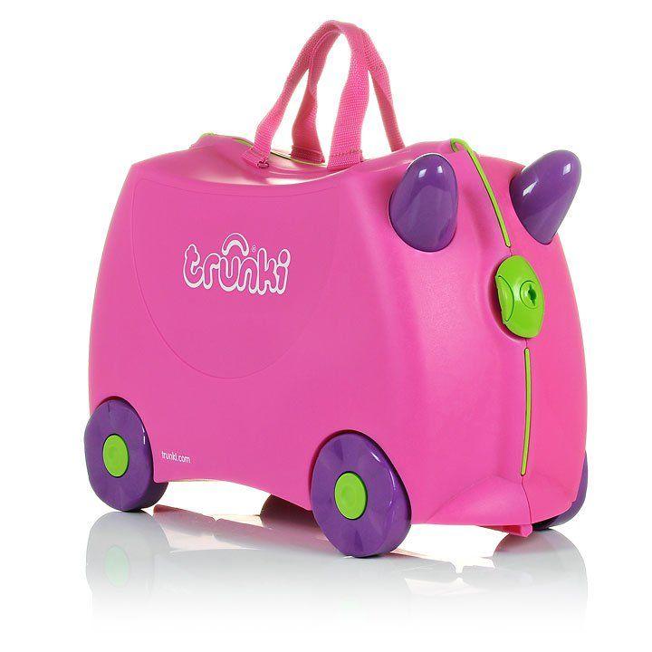 TRUNKI Kufřík + odrážedlo Trixie | Kašpárek Baby