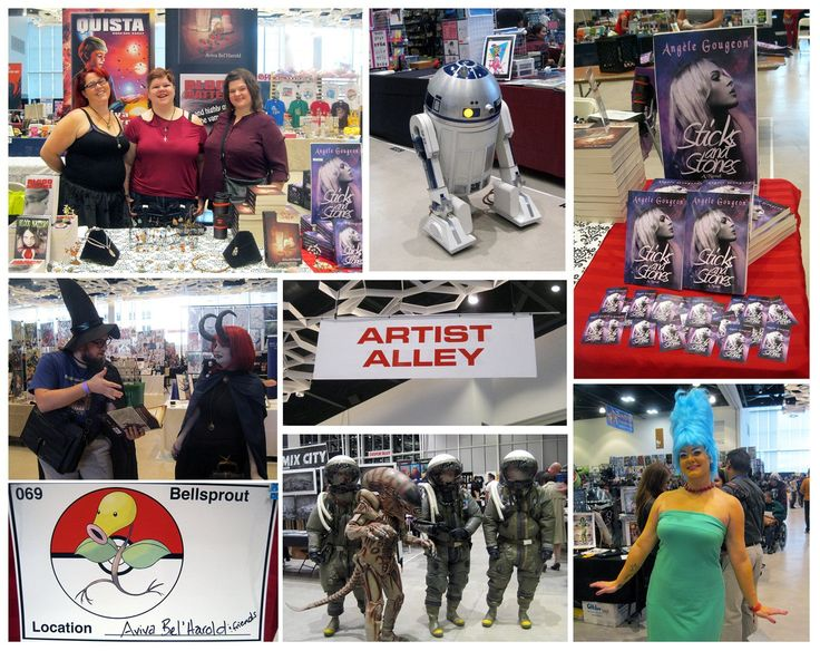 Had fun at Winnipeg's c4 this year! (2016) Met some amazing people, artists and authors, & had fun selling my brand-new paperback, Sticks and Stones! http://edgewebsite.com/books/sticksandstones/sticksandstones-catalog.html #ebook #book #paranormal #thriller #horror #supernatural #gothic #comicon #pokemon #starwars