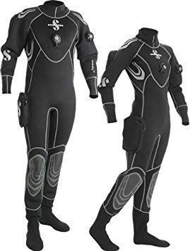 ScubaPro Everdry 4 Scuba Diving Drysuit Soft & comfortable like a wetsuit, but keeps you warm & watertight like a dry suit. Everdry 4 was created for demanding and recreational divers wanting easy-to-wear advanced dry suit protection. In professional black with modern, metallic silver... #scubadivingequipmentwetsuit
