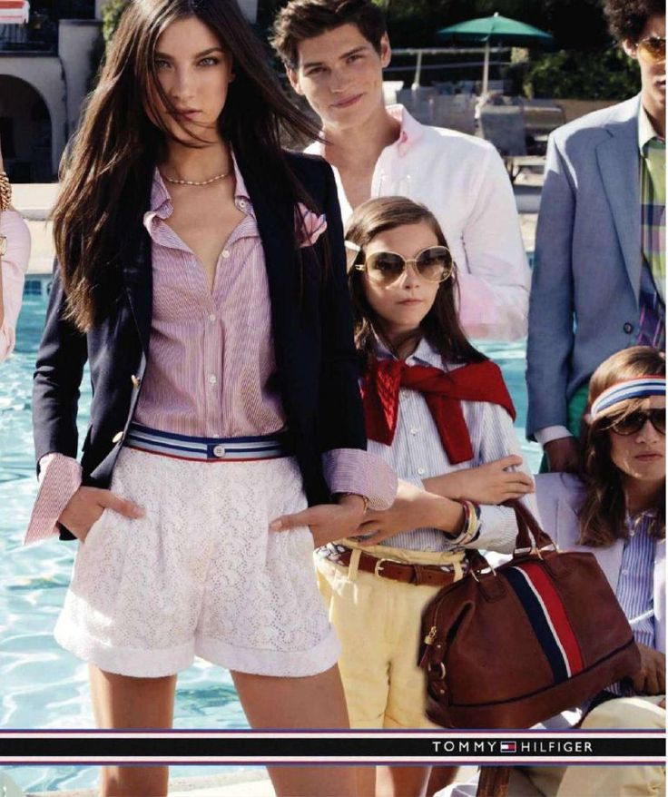 preppy fashion | ... ad campaign? Pure preppy perfection in this ladies' book. Observe