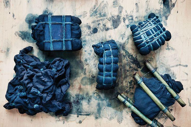 Un #indigo japonais en 10 étapes  MilK decoration