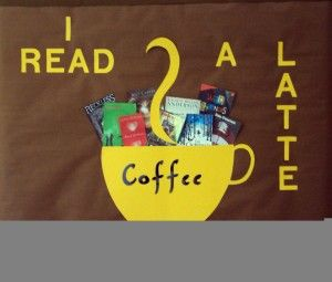 winter library displays | Fall in Love with a Good Book from Library Displays