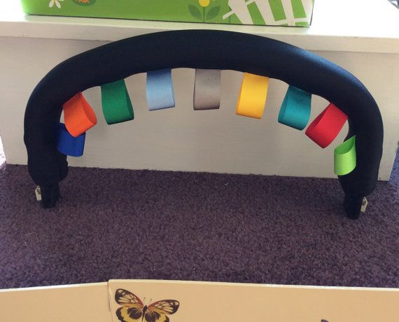 Taggy Bumper bar cover to fit Bugaboo Cameleon by FunkyPramCustoms