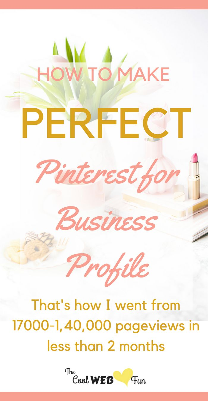 From Pinterest Business account how to to Pinterest Business Tips. It has got all. In fact following this I had 800% pageviews growth in under 2 months. http://www.coolwebfun.com/profitable-pinterest-for-business-profile/