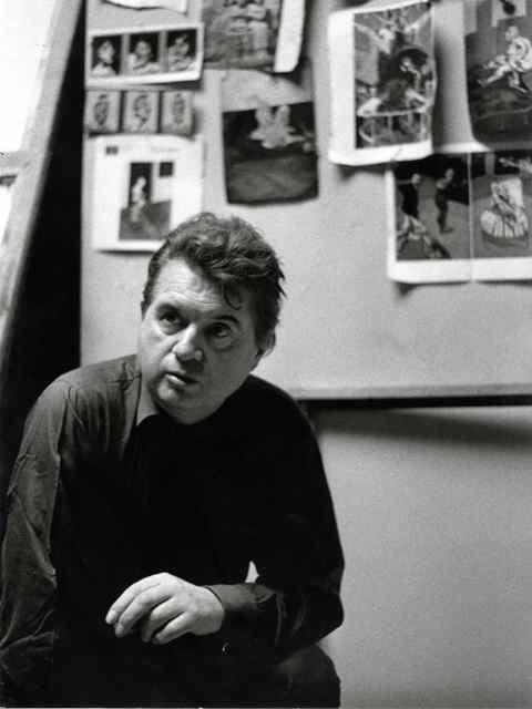 Francis Bacon. Phot. Mario Dondero
