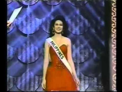 Miss Universe 1994 - Sushmita Sen (INDIA) - YouTube