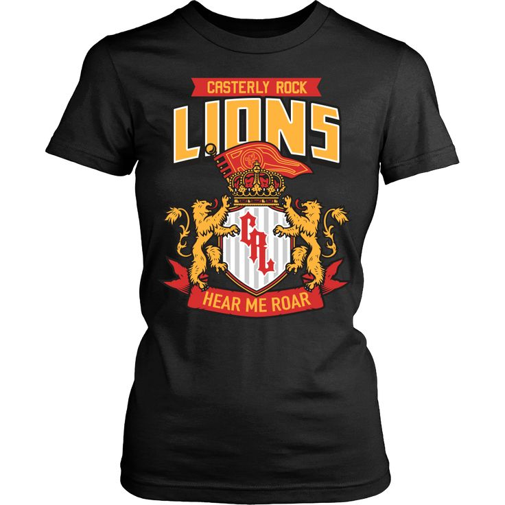 Casterly Rock Lions Front/Back - Women's