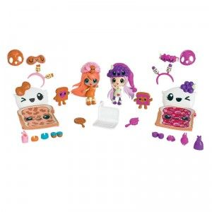 Kawaii Crush BFF Pack Shelly Jelly Jam & Netty Betty Creamy Crunch