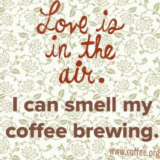 Best smell ever. #coffee #love