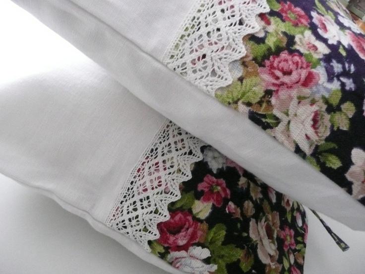 sweet pillow / linen textil