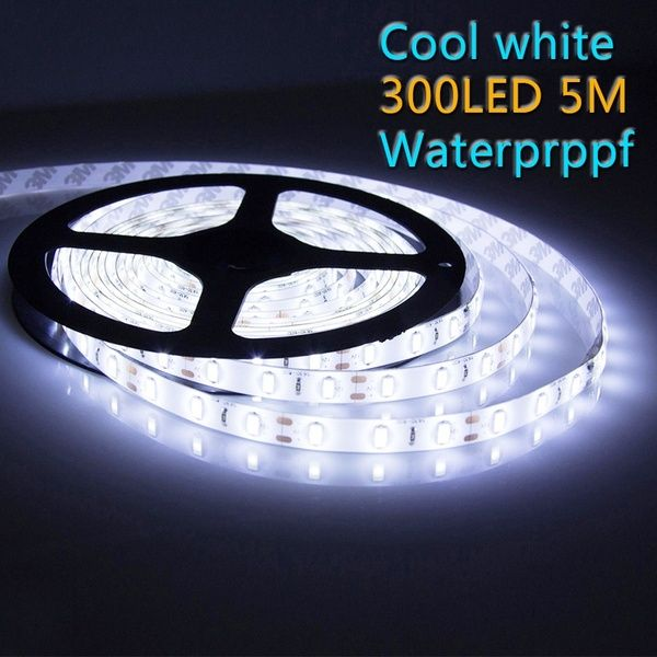 5m 3528 Smd 300led Flexible Light Strips Warm Cool White Led Lamp Dc 12v New Wish Led Strip Lighting Led Rope Lights White Led Lights