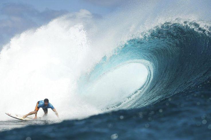 Surf en Tahiti