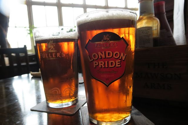 A Visit to Fuller's Brewery in London