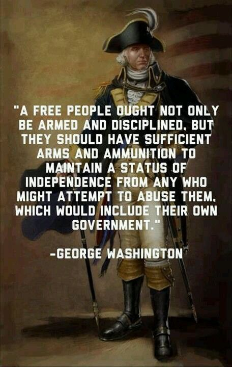 George Washington. It is wonderful to read the words of the founding fathers.  It is as if they are making the truth known today to save our Republic!