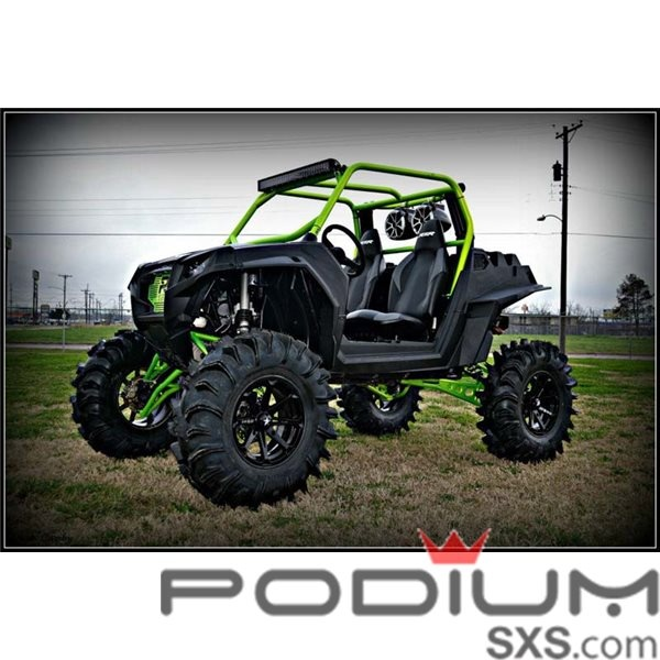 """RZR XP 900 7"""" Lift with Axles from S3 Powersports is the Mt Everest of lift kits. #1SxS"""
