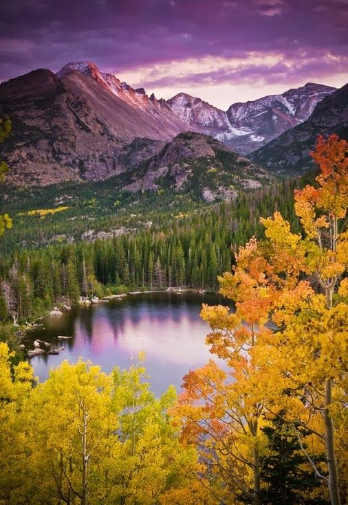 Rocky Mountain National Park, Estes Park, Colorado- lovely hiking trails for families