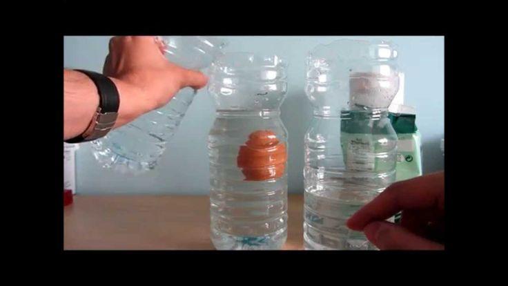 Experimento casero: Huevo que flota (flotabilidad y densidad agua salada)