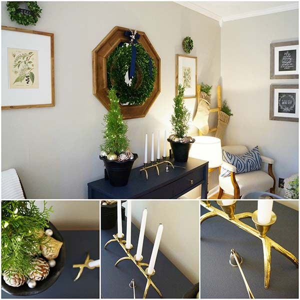 Christmas Tree Decoration Elements: Christmas Decorating Ideas With Green & Natural Elements