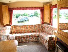 Woodpecker caravans at Meadow Lakes, accessible and pet friendly