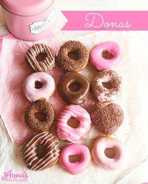 Receta de donas con glaseado de chocolate de Annas Pasteleria - Best krispy kreme donuts copycat recipe from www.annaspasteleria.com
