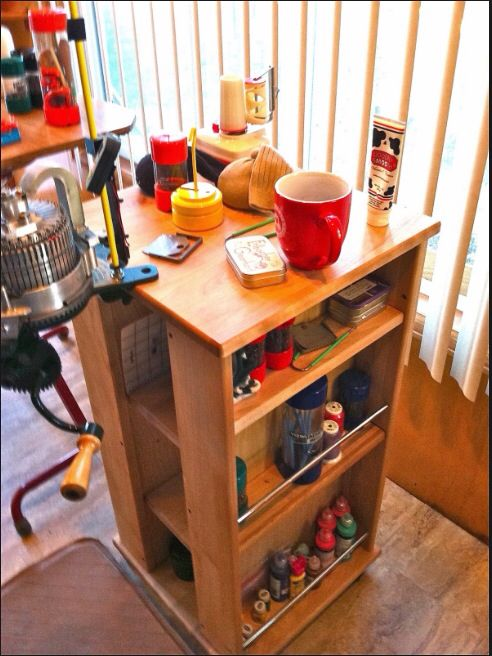 sock machine stand