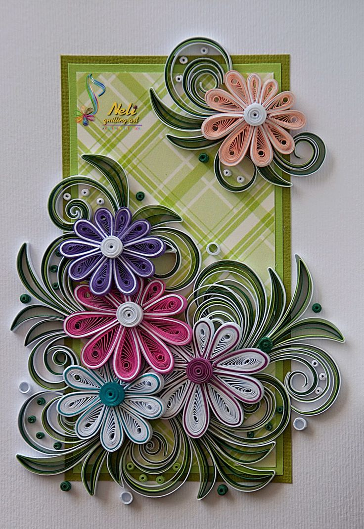 17 best images about beautiful quilling on pinterest for Quilling designs