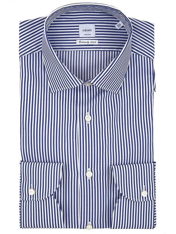 Modern fit Càrrel shirt stripes