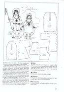 Историческая одежда для кукол.
