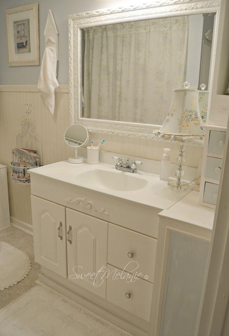 ~Sweet Melanie~: How to make a TINY bathroom Work