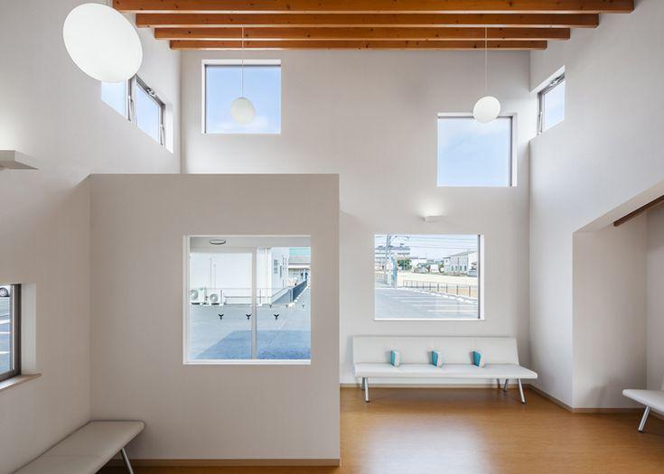 Y Clinic by Kimitaka Aoki / ARCO architects, Tsuchiura Japan office  healthcare