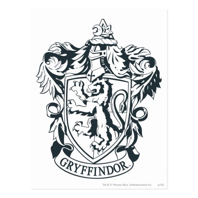 Create Your Own Postcard Zazzle Com In 2021 Harry Potter Harry Potter Gryffindor Gryffindor
