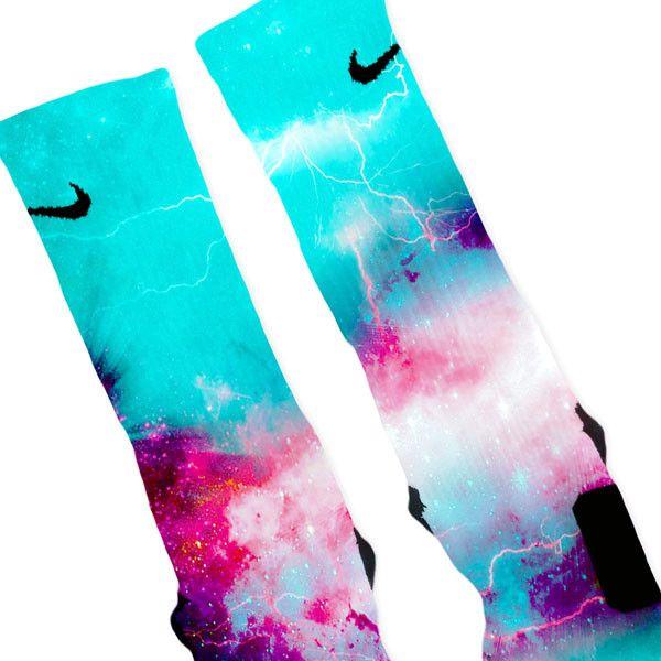 Hornets Storm Customized Nike Elite Socks – Fresh Elites