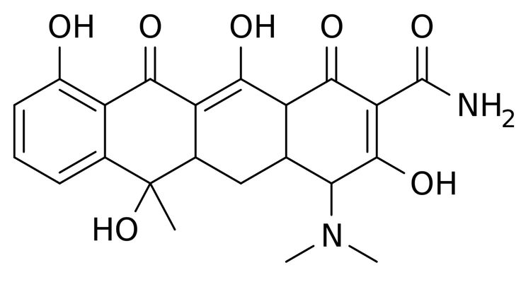 basic tetracycl structure.. Tetracyclines2DCSD2 - Tetracycline antibiotics - Wikipedia, the free encyclopedia