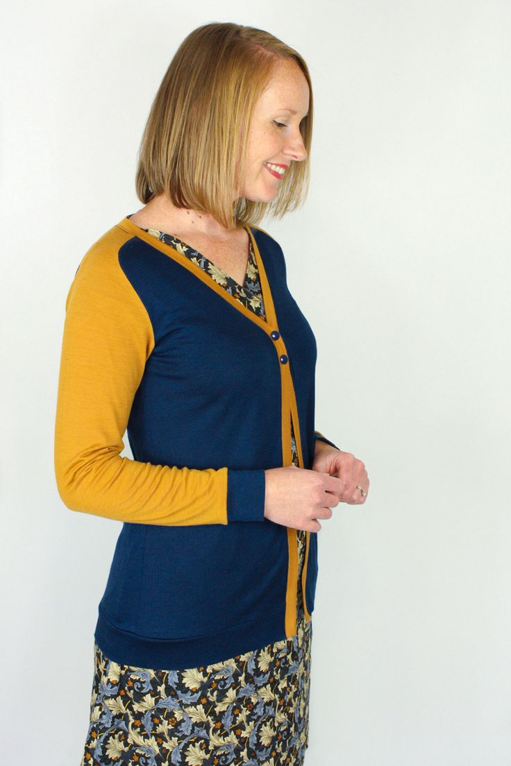 The Juniper Cardigan – Jennifer Lauren Handmade