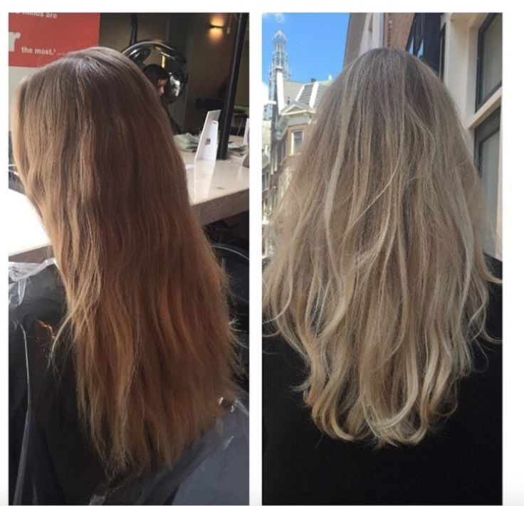 Blonde balayage hair colour makeover. Hair by Djamiela @ Salon B, Haarlem