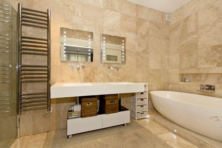 Bathroom basement flat London SW5 #cutlerandbond #basementflat #gardenflat #londonproperty