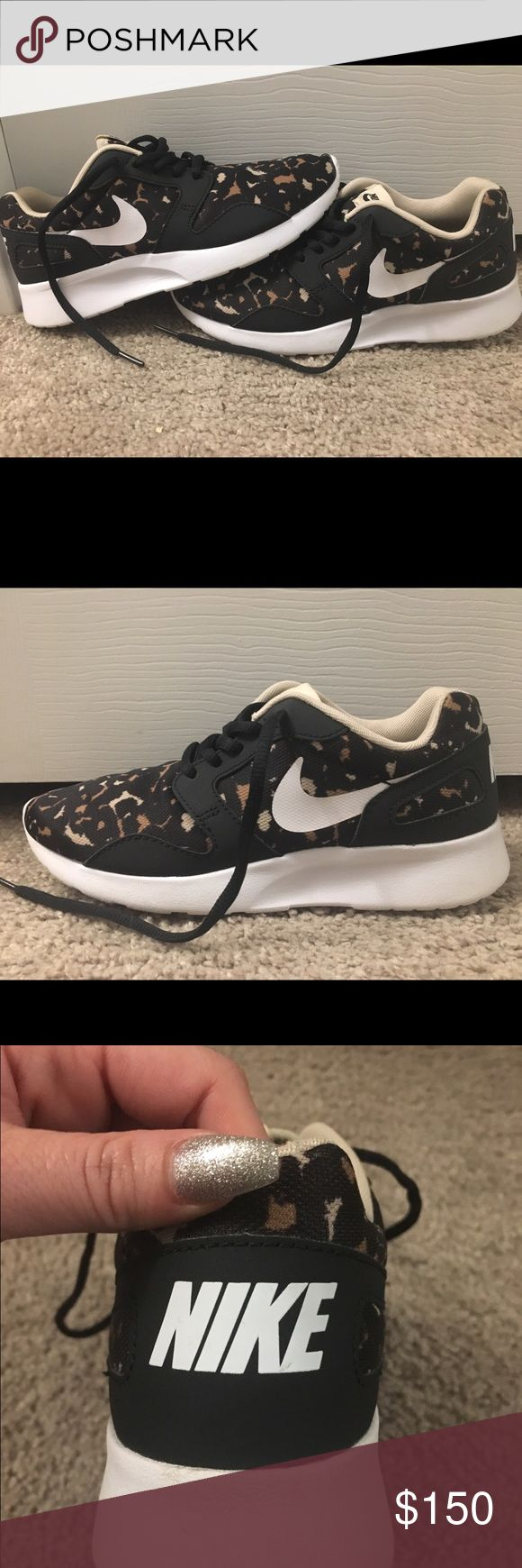 Womens Nike Leopard Running Sneakers Size 6.5 Rare Leopard Nike Running shoes. Womens 6.5 only worn a handful of times to the gym. Excellent condition Nike Shoes Sneakers