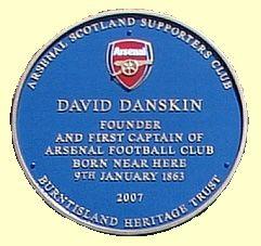 Blue plaque for David Danskin