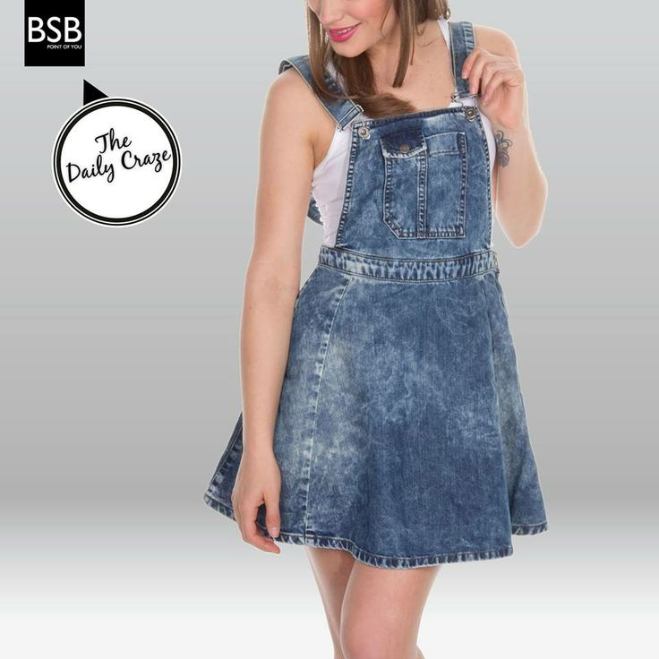 #The_Daily_Craze #Denim look is what you need for this season! #ss14_bsb