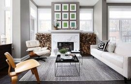 Neutrals that Wow: Minimal Chicago Townhouse with Inviting Warmth