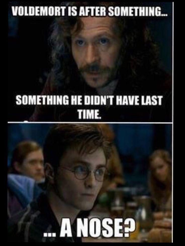 A joke only Harry Potter fans will get