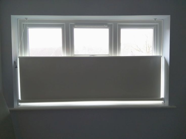 this beige blackout roller blind we installed to a first floor room provides privacy from overlooking
