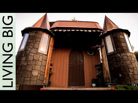 This family transformed a truck into a fold-out fantasy castle you have to see to believe | Rare