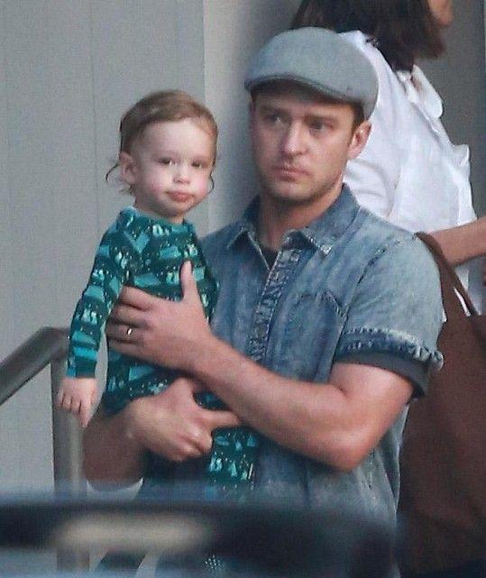 Justin Timberlake a jeho roztomilý syn