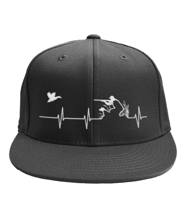 Duck Hunting Heartbeat Hat